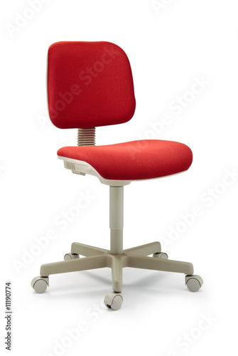 Chaise rouge de bureau from royalty free stock photo 1119077 - Chaise rouge conforama ...