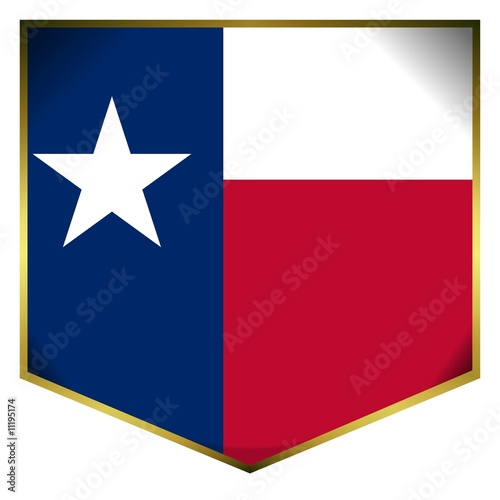 drapeau ecusson texas flag
