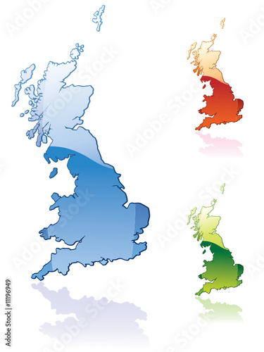 Great Britain..glossy map series