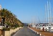Port de Hyères les Palmiers en hiver