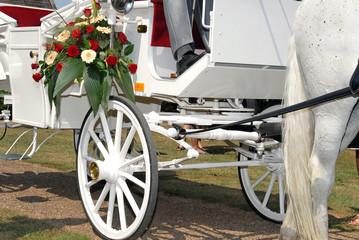 Hochzeit, Hochzeitskutsche