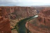 Colorado River am Horseshoe Bend bei Page, Arizona - USA