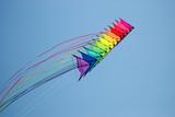 Stack of stunt kites poster