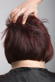 Hairdresser ruffle poster