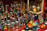 Souvenir shop in the medina of Fes, Morocco poster