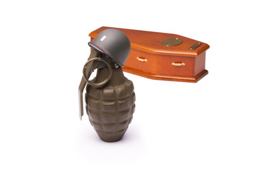 Grenade Soldier with Coffin