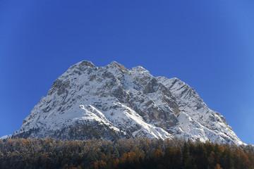 spätherbst in den bergen