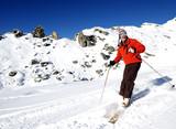 Ski - sports poster