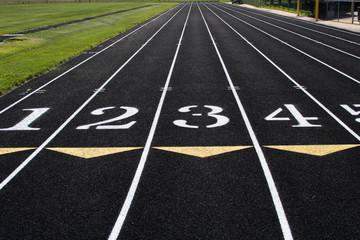 Track Lanes 1-4