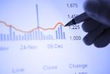 Analyze economic statistic poster