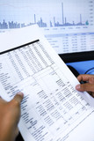 Analyzing stock market price poster