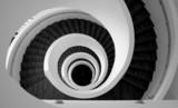 Modern spiral stairs detail - 11229168