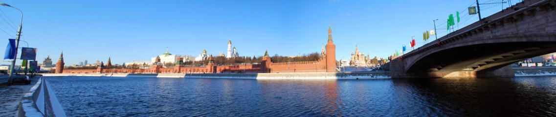 Le Kremlin depuis la Moskova