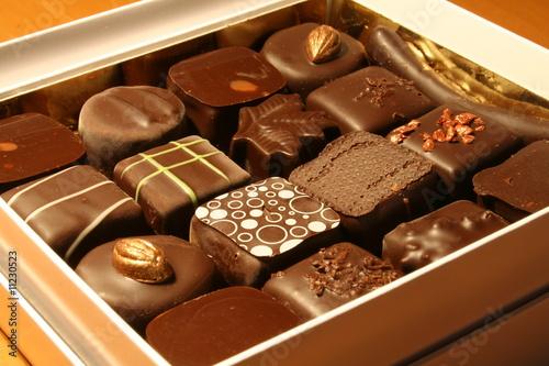 Papiers peints Confiserie Chocolats