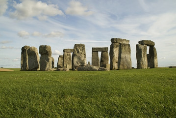 Colorful Stonehenge, Wiltshire