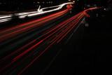 Fototapety autoroute de nuit