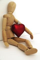 Valentine y corazon