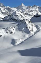 Swiss Alps Wilderness skiing