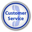 """Customer Service"" button (blue)"