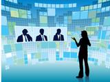 Virtual meeting poster