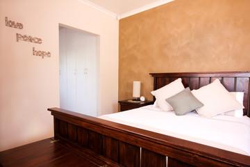 Master bedroom interior