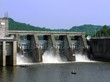 canvas print picture - Cordell Hull Dam