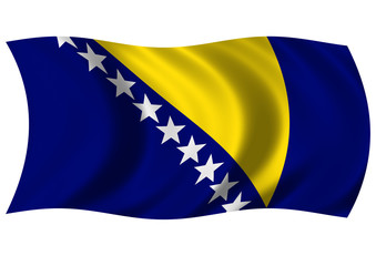 Bosnia & Herzegovina - Flag of