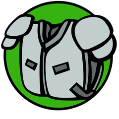 football shoulder pads protection equipment