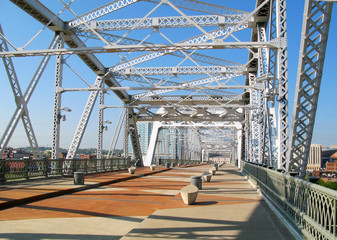 Nashville Shelby Street Bridge