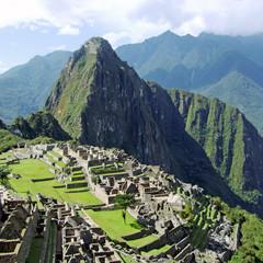 Machu Picchu near Cusco, Peru.