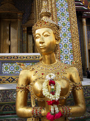 Grand Palace Statue in Thailand.