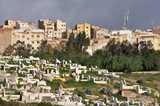 Old graveyard in Fes, Morocco poster