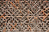 Wooden oriental decoration in Morocco - 11260706