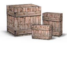 Cajas de Madera para transporte de mercancias