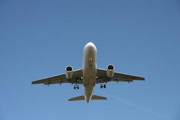 Flugzeug Anflug