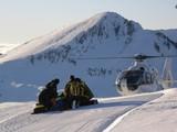 opération de secours en montagne poster