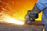 steel grind poster