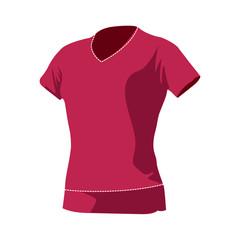 T-shirt pour femme rose