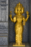 Golden Hindu Deity poster