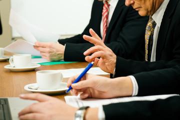 Leute im Meeting