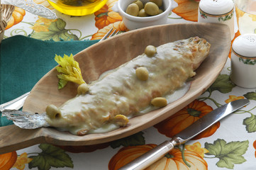 Tinca agli aromi - Secondi di pesce Trentino Alto Adige