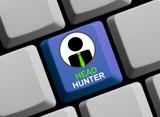 Neuer Job? Headhunter online! poster
