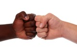 Multi Racial Fists