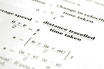 mathematical equation text education concept