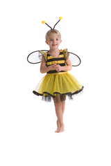 Girl In Bumble Bee Costume