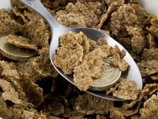 Credit Crunch Breakfast Cereal No DoF