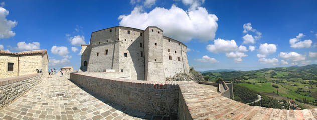 Forte di San Leo, Marche, Italia