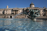 Fontaine de Trafalgar Square poster