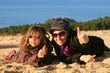 tout va bien au sommet de la dune