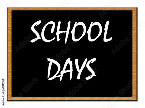 School days notice